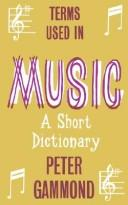 Download Terms Used in Music