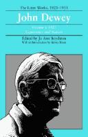 Download John Dewey: The Later Works, 1925-1953