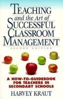 Download Teaching & the Art of Successful Classroom Management