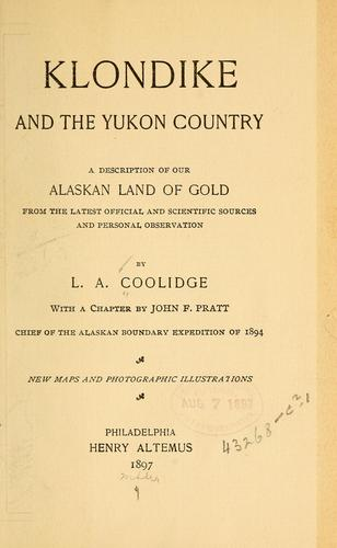 Download Klondike and the Yukon country