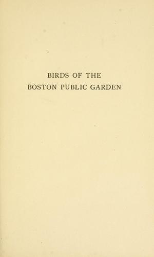 Download Birds of the Boston Public garden