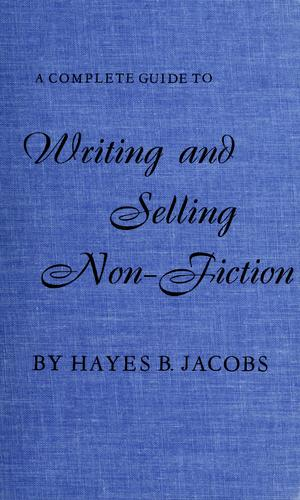 Download A complete guide to writing and selling non-fiction.