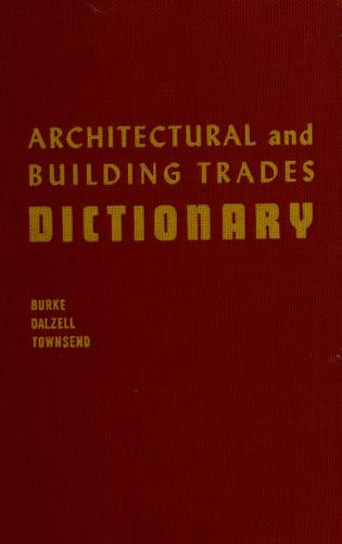 Download Architectural and building trades dictionary