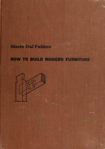Download How to build modern furniture.