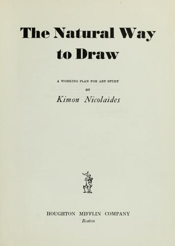 Download The natural way to draw