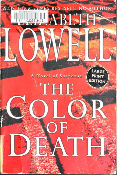 The color of death by Ann Maxwell