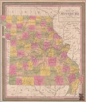 Cover of: Map of Missouri
