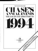 Chase's Annual Events by Contemporary
