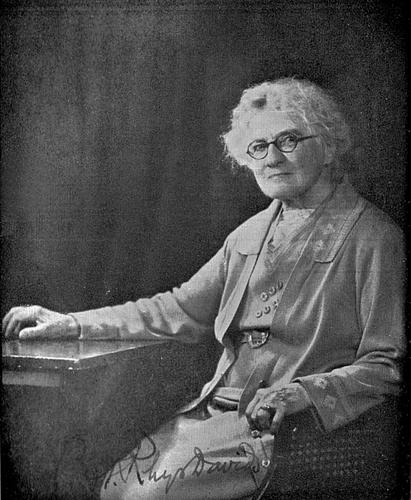 Photo of Caroline Augusta Foley Rhys Davids