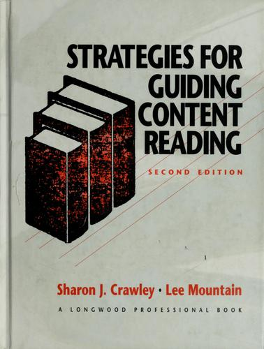 Strategies for guiding content reading by Sharon J. Crawley