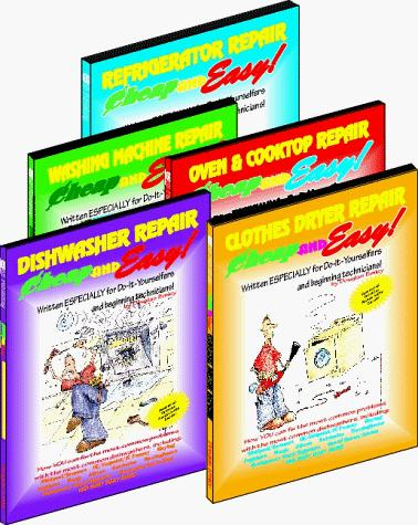 Cheap and Easy! Appliance Repair (5-Book Set by Douglas Emley